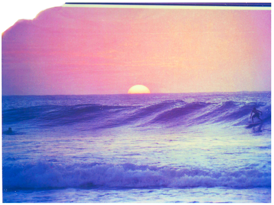 Polaroid + Surfing = Love